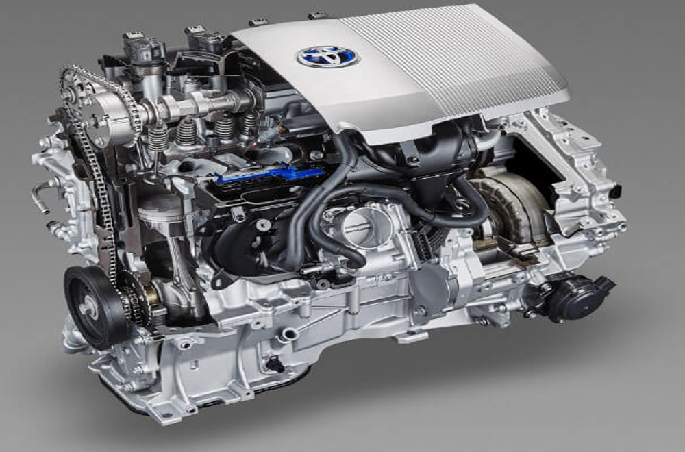 Toyota C-HR  มากับขุมพลังเครื่องยนต์รหัส 2ZR-FXE แบบ 4 สูบ เรียงแถว DOHC 16 วาล์ว ให้กำลังสูงสุด 72 แรงม้า ส่งกำลังผ่านระบบเกียร์อัตโนมัติ E-CVT พร้อม Shift Lock