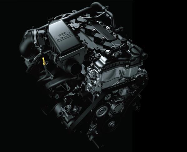เครื่องยนต์เบนซิน รหัส 2NR แบบ 4 สูบ ขนาด 1.5 ลิตร DOHC Dual VVT-i