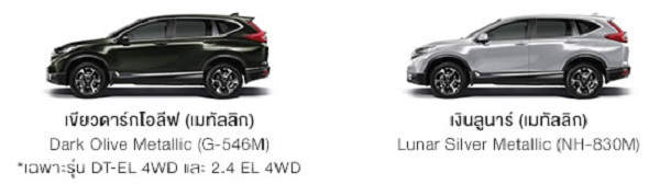 NEW HONDA CR-V​ รุ่น DT-EL 4WD