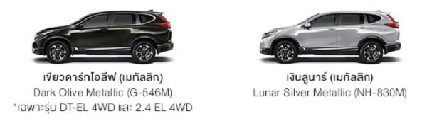 NEW HONDA CR-V รุ่น  2.4 EL 4WD