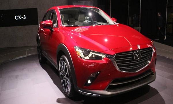 Mazda CX-3 รุ่นปรับโฉม Minor Change 2018
