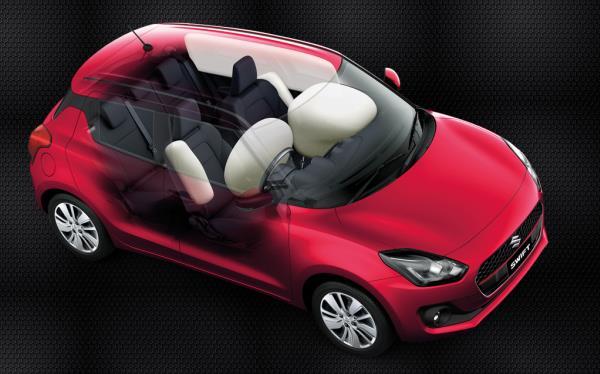 ตัวอย่างลักษณะภายในรถที่กลายเป็นปัญหาจุกจิกของ Suzuki Swift