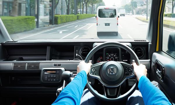Honda N-Van พกพาความคล่องตัวมาอย่างเต็มที่