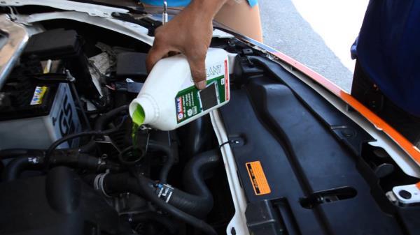 การตรวจเช็คหม้อน้ำรถยนต์