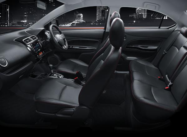 ภายในห้องโดยสารของ All New Mitsubishi Attrage 2018
