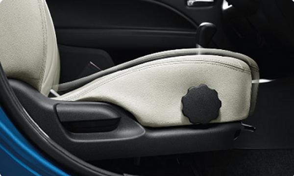 เบาะนั่งด้านคนขับสามารถปรับระดับสูง-ต่ำได้