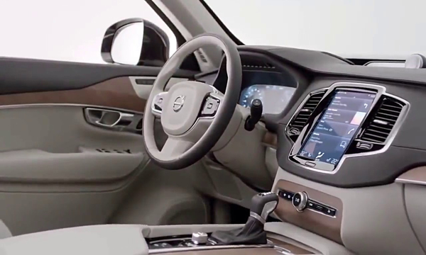 ภายใน Volvo XC 90 2018
