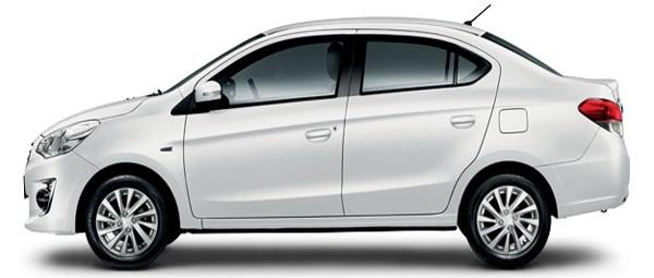 Mitsubishi Attrage GLX CVT 2018