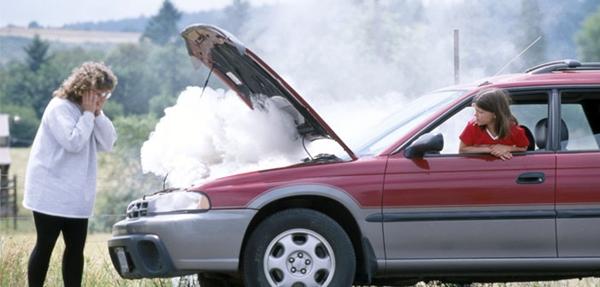 เครื่องยนต์ร้อน ปัญหาของคนมีรถ