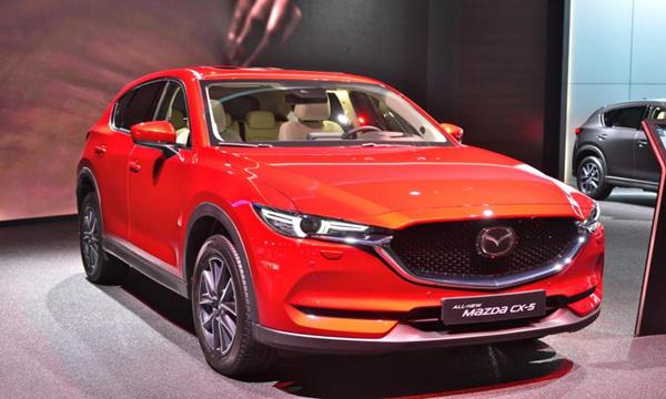 ดีไซน์ Mazda CX-5 2018