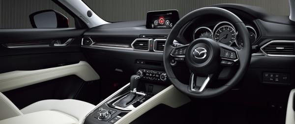 ดีไซน์ภายใน Mazda CX-5 2018