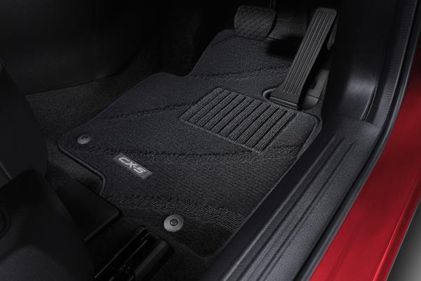 ชุดพรมปูพื้นห้องโดยสาร Mazda CX-5 2018