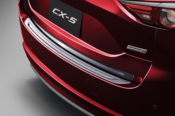 การใส่คิ้วกันชนหน้าหลัง ของ Mazda CX-5 2018