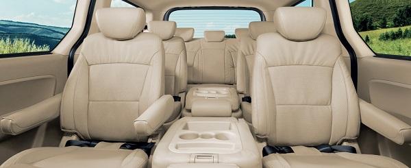 ภายในห้องโดยสารของ The New Hyundai H-1 กว้างขวางและอบอุ่น