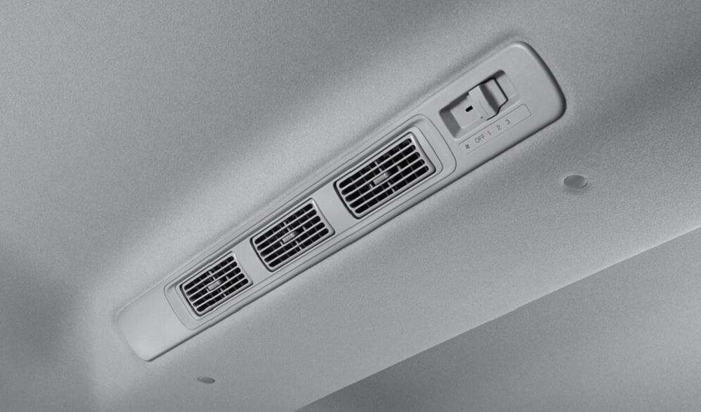 ระบบปรับอากาศสำหรับผู้โดยสารด้านหลัง (เฉพาะรุ่น RS และ V)