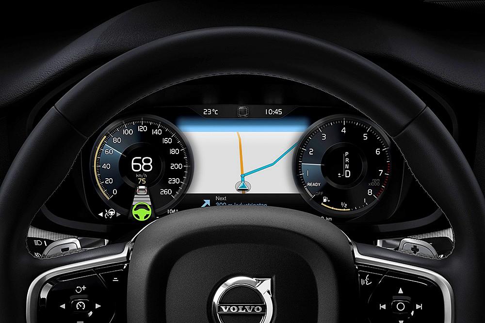 ส่วนภายใน All-new Volvo V60 ปี 2018 ยังคงเน้นความพรีเมียม เรียบง่าย ทันสมัย แต่ดูดีมีสไตล์และเน้นการใช้งานได้จริง (Practical)