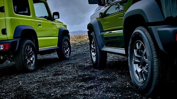 รูปลักษณ์ภายนอกคงความคลาสสิคแบบสไตล์ Suzuki