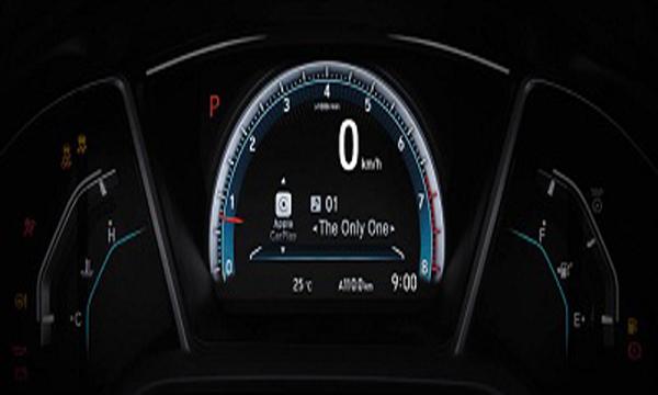 มาตรวัดพร้อมหน้าจอแสดงข้อมูลการขับขี่แบบ TFT