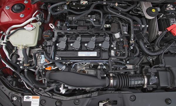 เครื่องยนต์ DOHC 4 สูบ 16 วาวล์ VTEC Turbo ขนาด 1.5 ลิตร