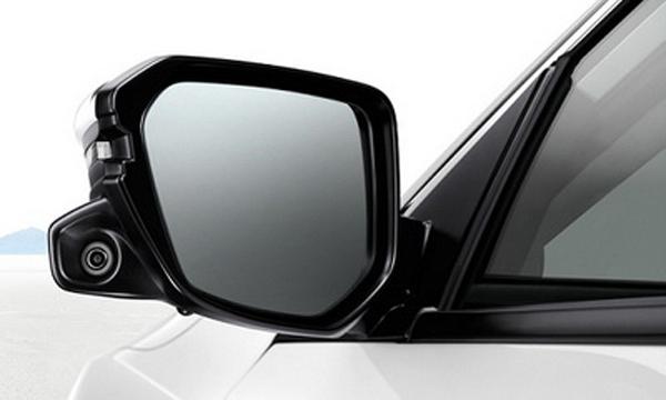 ระบบแสดงภาพมุมอับสายตาขณะเปลี่ยนเลนแบบ Honda Lane Watch