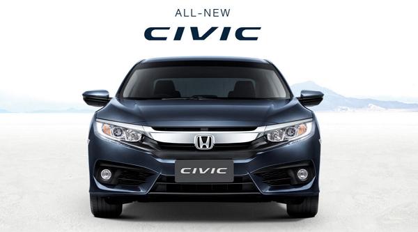 ดีไซน์ภายนอก Honda Civic Hatchback 2018-2019