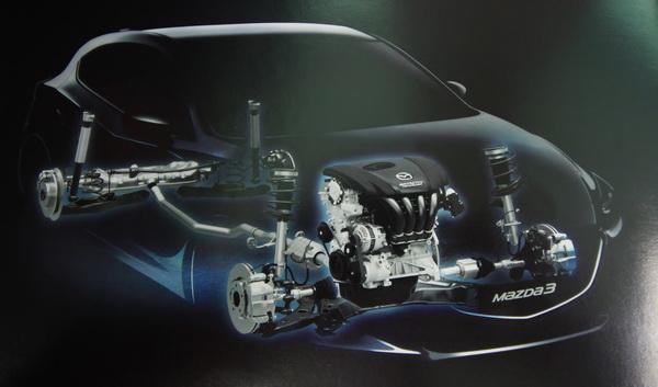 สมรรถนะภายในของ Mazda 3 2018