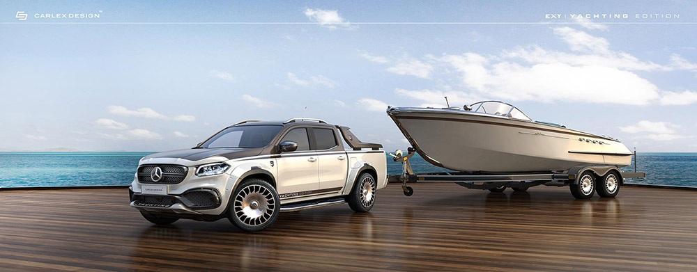 Mercedes-Benz X-Class Yachting Edition ซึ่งหรูหรากว่า Mercedes-Benz X-Class ปกติมาก