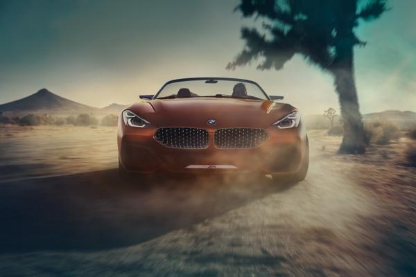 เผยภาพหลุด BMW Z4 2019