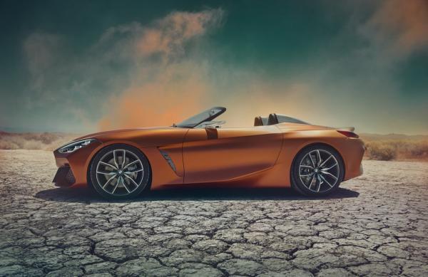 BMW Z4 2019 คอนเซปต์