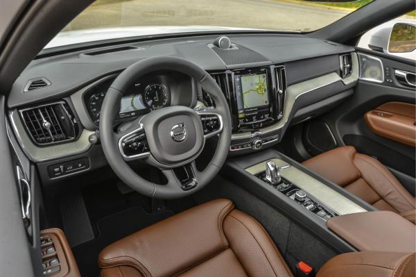 ดีไซน์ภายใน Volvo XC60