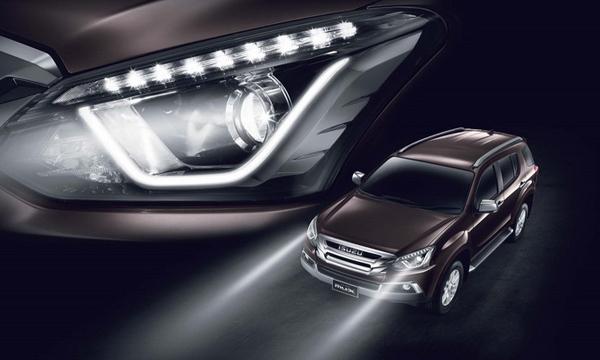 ไฟหน้าแบบ Bi-LED พร้อมระบบปรับระดับไฟหน้าสูง-ต่ำอัตโนมัติ