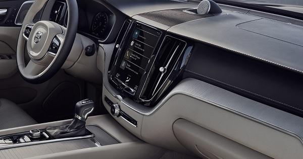 ภายในห้องโดยสารของ Volvo XC60 2018