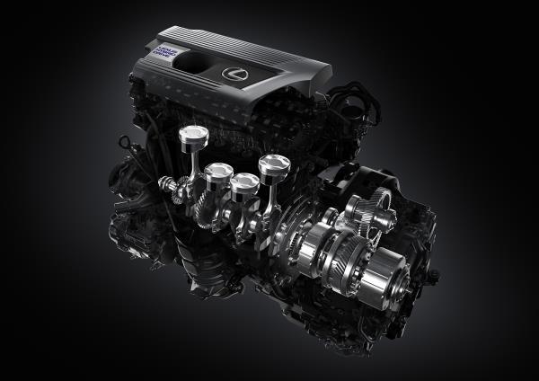 ตัวอย่างเครื่องยนต์ Lexus NX300h
