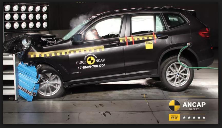2018 BMW X3 ระบบความปลอดภัย
