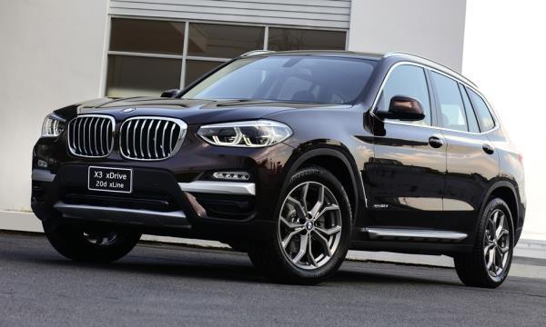 ดีไซน์ภายนอกของ BMW X3 xDrive 20d xLine 2018