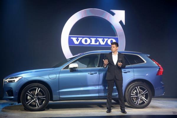 ดีไซน์ภายนอก Volvo xc60 2018