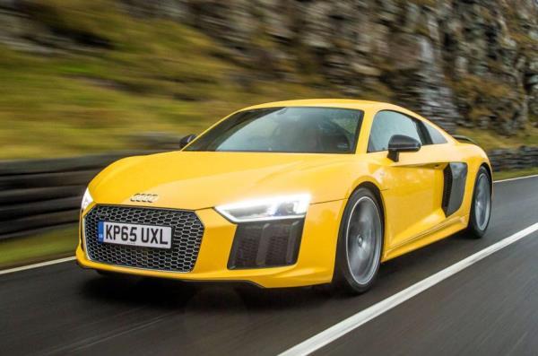 ดีไซน์ภายนอกของ Audi R8