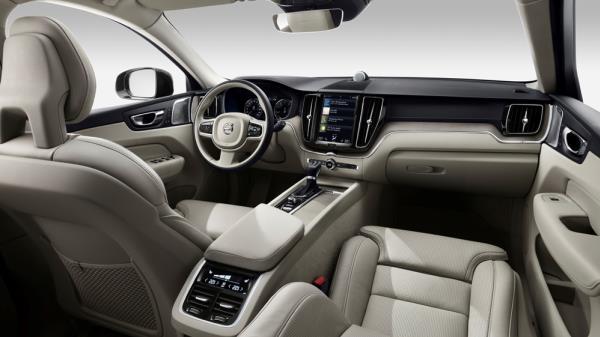 ดีไซน์ภายในของ Volvo xc60 2018