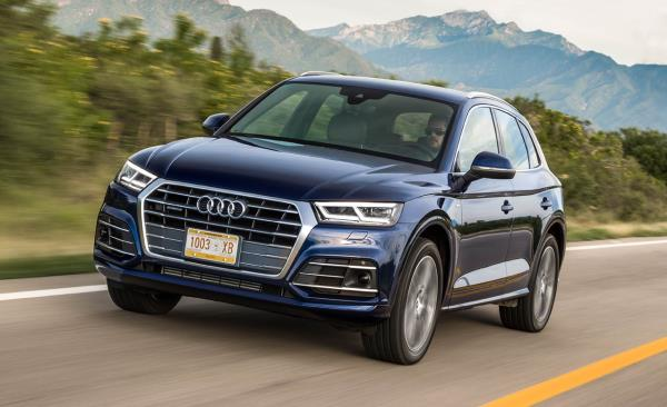ดีไซน์ภายนอก Audi Q5 2018