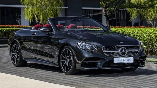 Mercedes-Benz S 560 Cabriolet 2018