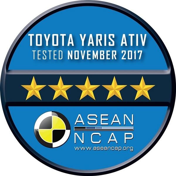 มาตรฐานความปลอดภัยระดับ 5 ดาว จากอาเซียน เอ็นแคป (ASEAN NCAP)