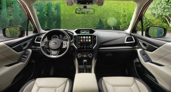 ดีไซน์ภายในของ All New Subaru Forester 2019