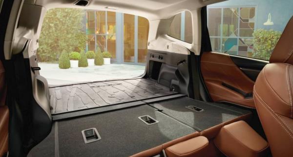 พื้นที่ใช้สอยภายในรถ