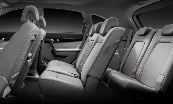 Chevrolet Captiva 2018 ติดตั้งเบาะนั่งภายใน 7 ที่นั่ง