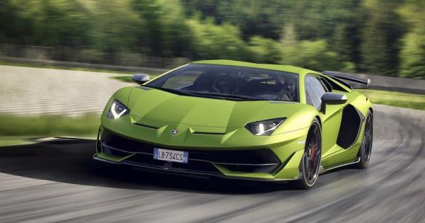 ตัวอย่างการออกแบบ 2019 Lamborghini Aventador SVJ