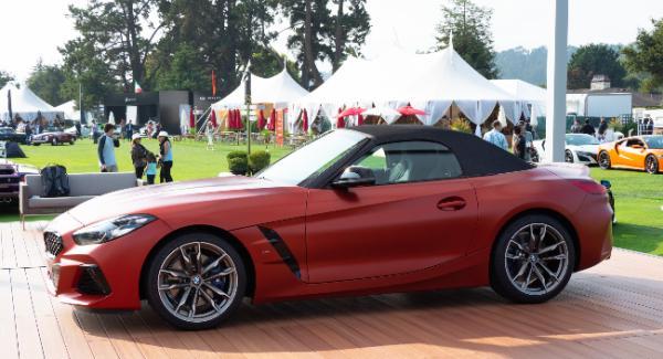 BMW Z4 2019 รุ่น M40i ด้านข้าง