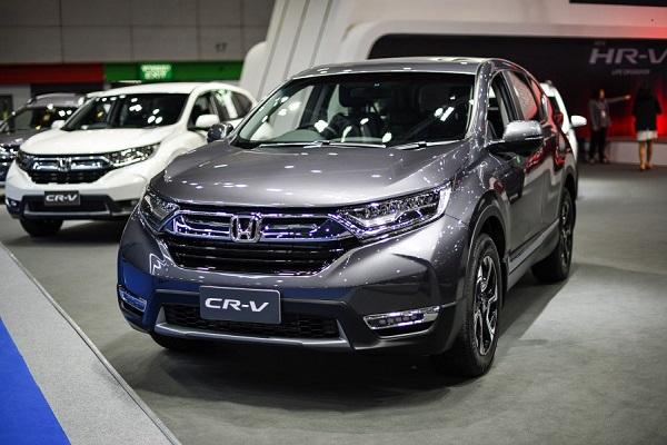 All New Honda CR-V 2018  มีให้เลือกทั้งหมด 4 รุ่น