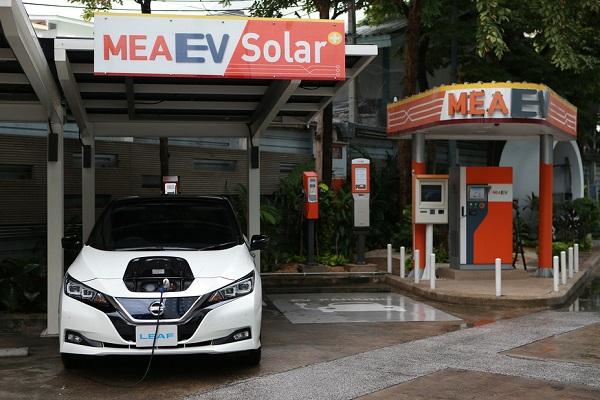 สถานีอัดประจุไฟฟ้าสำหรับรถยนต์ไฟฟ้า