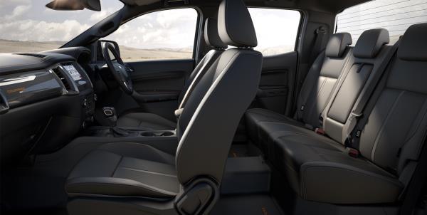 ดีไซน์ภายใน Ford Ranger Wildtrak 2018