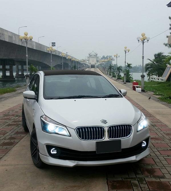 กระจังหน้าเติมความเรียบหรูในแนว BMW สำหรับ Suzuki Ciaz 2018